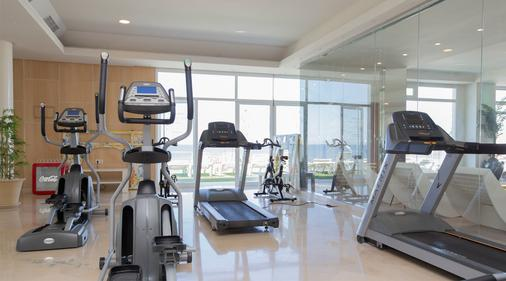 On Hotels Oceanfront - Matalascanas - Fitnessbereich