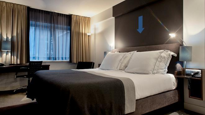 Rembrandt Square Hotel Amsterdam - Amsterdam - Makuuhuone