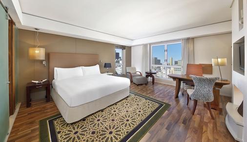 開普敦市中心希爾頓大酒店 - 開普敦 - 開普敦 - 臥室