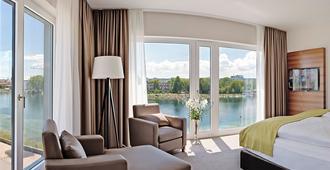 47 ° Ganter Hotel - Konstanz - חדר שינה