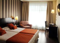 Hotel Conde Duque Bilbao - Thành phố Bilbao - Phòng ngủ