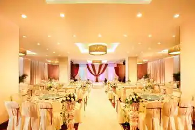 Howard Johnson by Wyndham Parkland Hotel Dalian - Dalian - Sala de banquetes