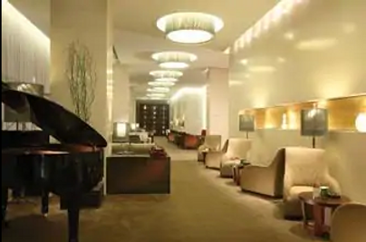 Howard Johnson by Wyndham Parkland Hotel Dalian - Dalian - Lounge