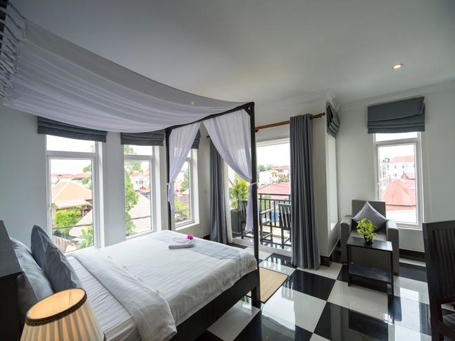 Rithy Rine Angkor Residence - Siem Reap - Phòng ngủ