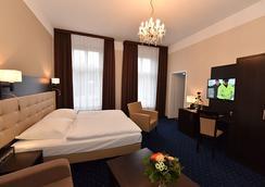 凡豪斯沃勒旅館 - 史威林 - 什未林 - 臥室