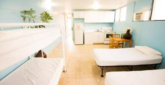 Waikiki Beachside Hostel - Honolulu - Schlafzimmer