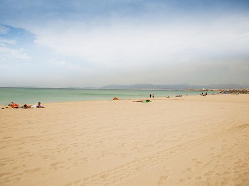 Hotel Playasol Palma Cactus - Пальма-де-Майорка - Пляж