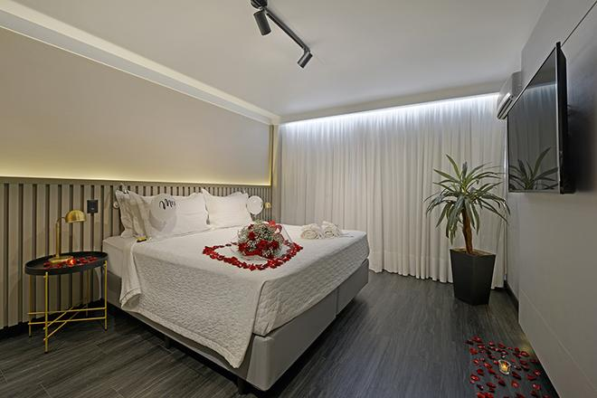 Hotel Deville Business Maringá - Maringá - Bedroom