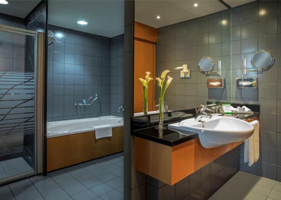 利哈博羅塔娜酒店 - 杜拜 - 杜拜 - 浴室