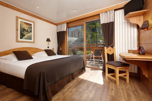 德拉維酒店 - 霞慕尼白朗峰 - 夏蒙尼-勃朗峰 - 臥室