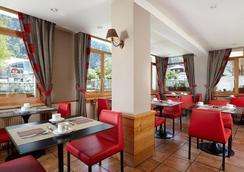 德拉維酒店 - 霞慕尼白朗峰 - 夏蒙尼-勃朗峰 - 餐廳