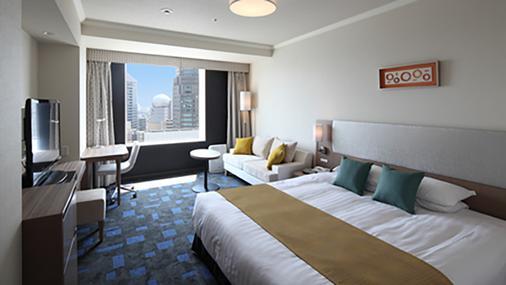 Shibuya Excel Hotel Tokyu - Tokio - Schlafzimmer