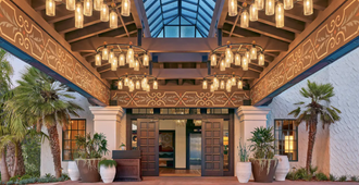 Palmoro House - סנטה ברברה - כניסה למלון