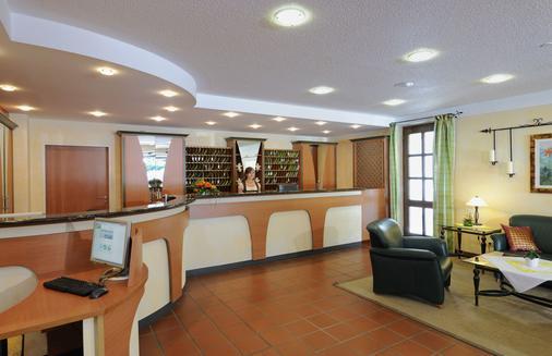 Johannesbad Vitalhotel Jagdhof - Bad Fuessing - Front desk