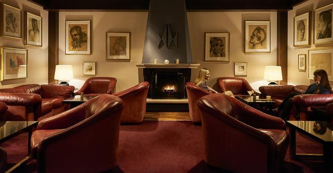 Hotel Holt - Reykjavik - Living room