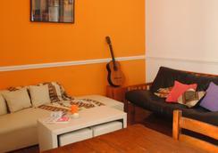 La Casa de Pandora Hostel & Cafe - Rosario - Living room