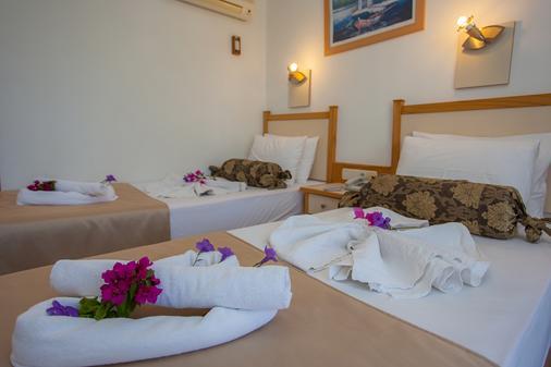 Rebin Beach Hotel - Μάκρη - Κρεβατοκάμαρα
