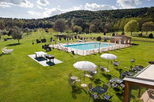 Hotel Casolare Le Terre Rosse - San Gimignano - Pool