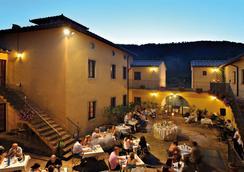Hotel Casolare Le Terre Rosse - San Gimignano - Restaurant