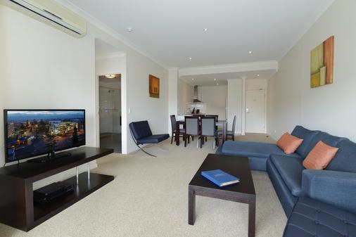 Macquarie Waters Boutique Apartment Hotel - Port Macquarie - Phòng khách