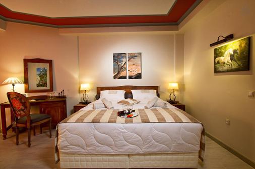 Hotel Rodovoli - Konitsa - Bedroom