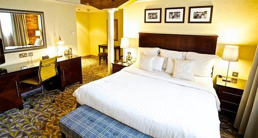 曼徹斯特維多利亞和艾爾伯特萬豪酒店 - 曼徹斯特 - 曼徹斯特 - 臥室