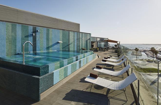Hotel Faro & Beach Club - Faro - Piscina
