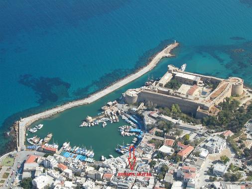 Kyrenia Reymel Hotel - Kyrenia - Map