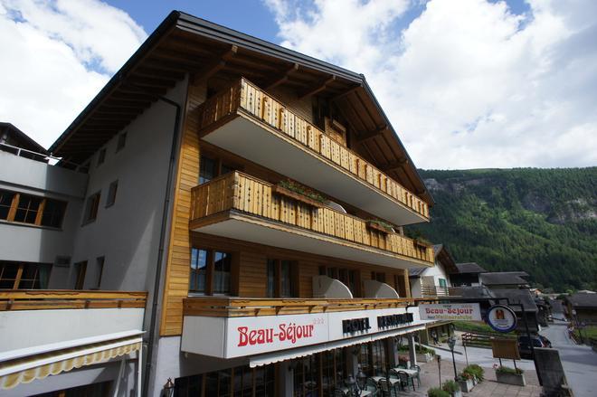 Hotel Beau Séjour - Leukerbad - Edificio