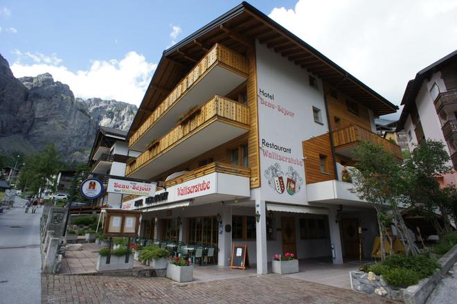 Hotel Beau Séjour - Leukerbad - Κτίριο