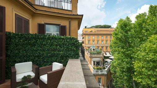 Hotel Imperiale - Rom - Balkon