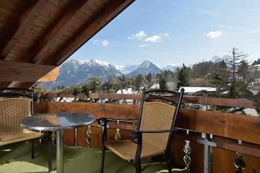 Ringhotel Nebelhornblick - Oberstdorf - Balcony