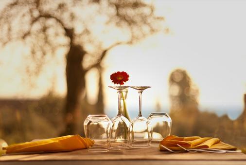 迪澤爾酒店 - 西米歐涅 - 西爾米奧奈 - 餐廳