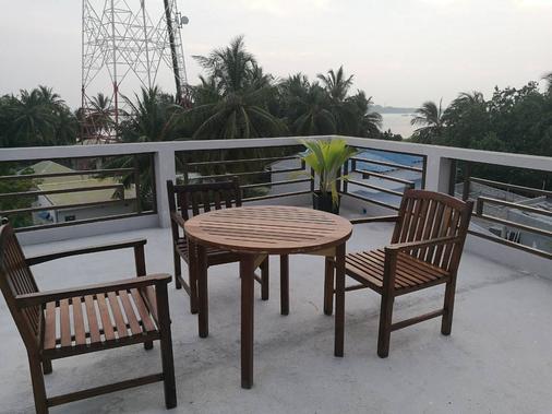 White Coral Rasdhoo - Rasdhoo - Balcony