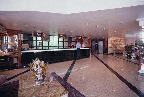 Hotel Atlantico Copacabana - Rio de Janeiro - Receptie