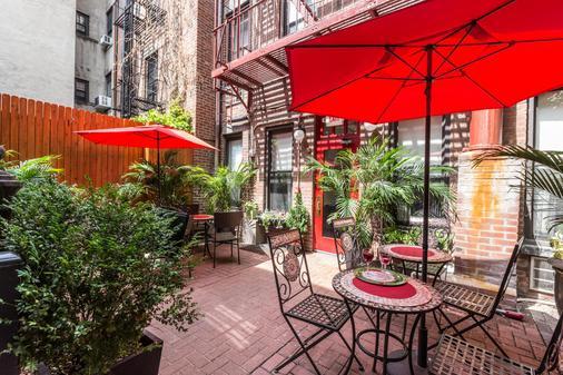 414 Hotel - Νέα Υόρκη - Βεράντα