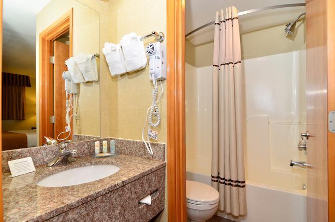 西雅圖中心品質套房酒店 - 西雅圖 - 西雅圖 - 浴室