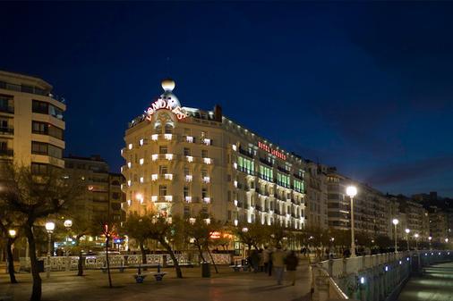 Hotel de Londres y de Inglaterra - San Sebastián - Toà nhà