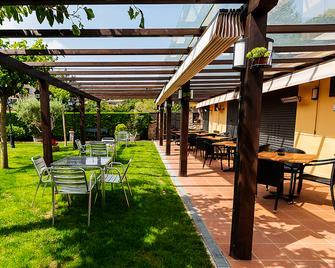 Hotel-Restaurante La Quadra - Maçanet de Cabrenys - Patio
