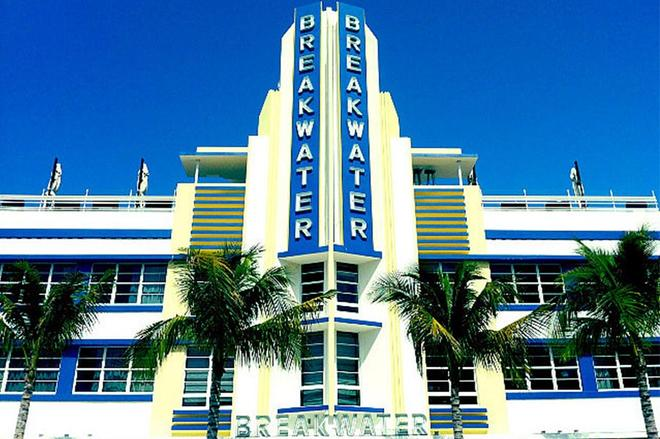 Hotel Breakwater South Beach - Bãi biển Miami - Toà nhà