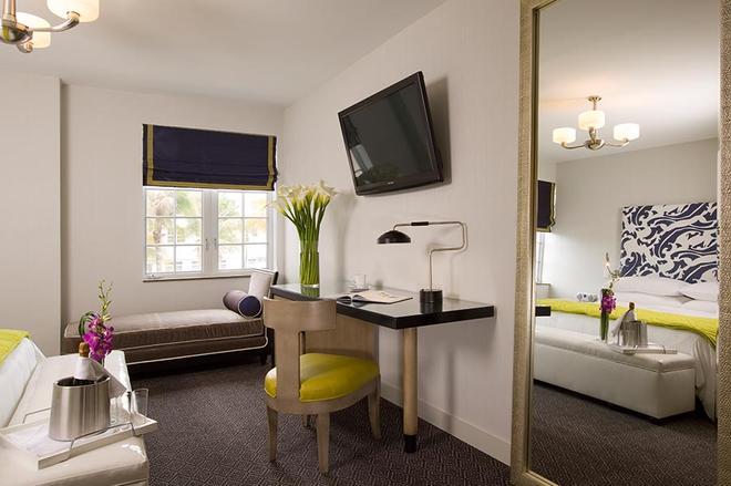 Hotel Breakwater South Beach - Bãi biển Miami - Phòng ngủ