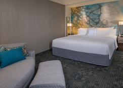 Courtyard by Marriott Omaha Bellevue at Beardmore Event Center - Bellevue - Bedroom