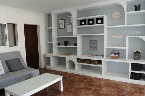 Villa Las Flores - 美洲海灘 - 休閒室