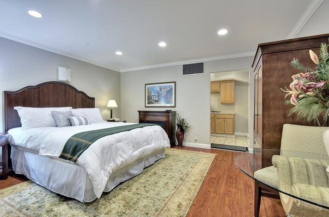 Stanford Terrace Inn - Palo Alto - Makuuhuone