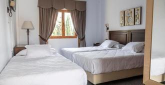 Hotel Plaza Del Castillo - Málaga - Schlafzimmer