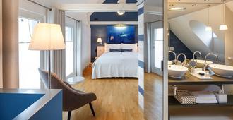 Hotel Seehof - ציריך - חדר שינה