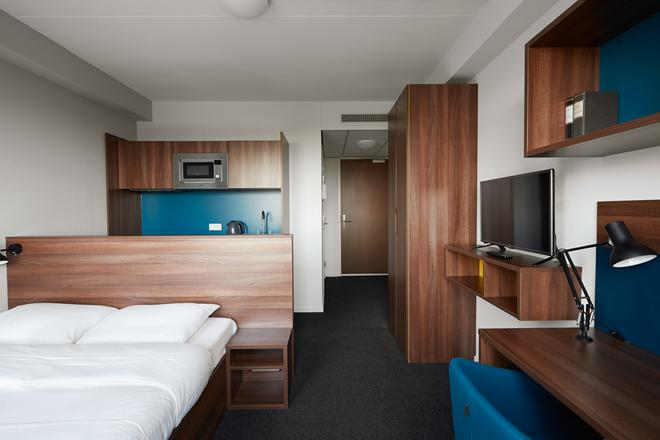 The Student Hotel The Hague - Гаага - Спальня