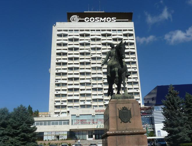 Cosmos Hotel - Chișinău - Rakennus