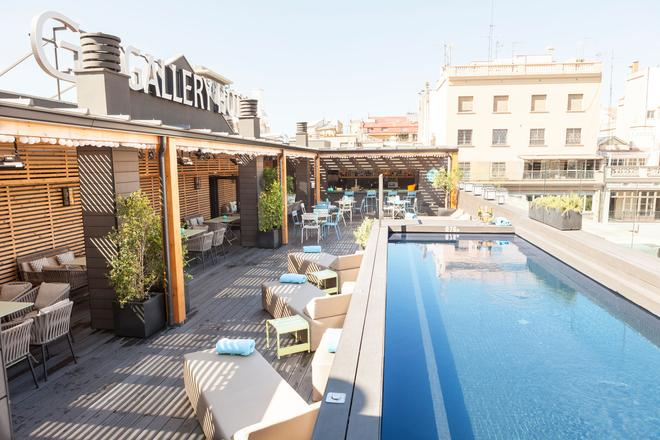 Gallery Hotel - Barcelona - Kattoterassi
