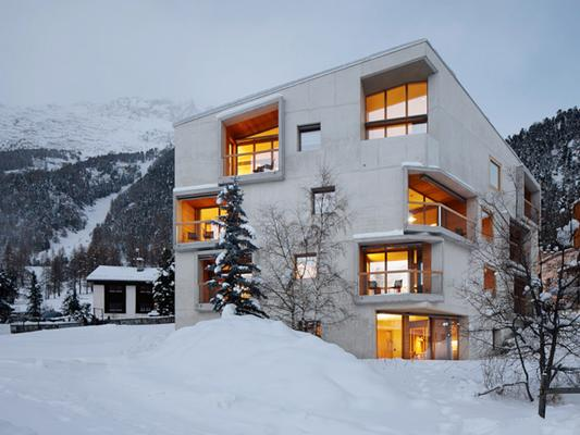 Alpine Lodge Chesa Plattner - Pontresina - Rakennus